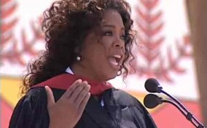 Oprah gives the 2008 commencement speech & Stanford University